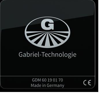 Gabriel-Chip GDM 60/70 schwarz