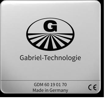 Gabriel-Chip GDM 60/70 silber